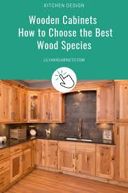 how to wood cabinets a simple guide to choosing the best wood cabinet type