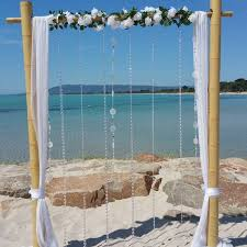 Bamboo Wedding Arch Wedding Arch Hire Backdrops Arbours Weddings Melbourne