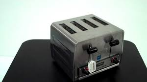 Waring Toasters Waring Wct800 Commercial Toaster Youtube