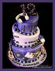 the color scheme on this cake is quite nice justin bieber