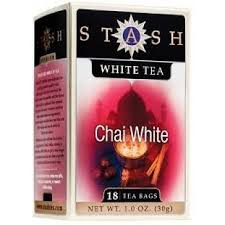 stash white chai premium tea 18 ct peters gourmet market