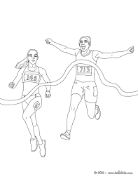 athletics u2013 keeping moving 16 athlete coloring pages and pictures