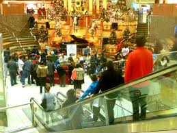 shoppers check the hours for the malls in fairfield