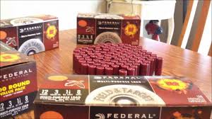 wal mart federal shotshell ammunition review cheap ammo youtube