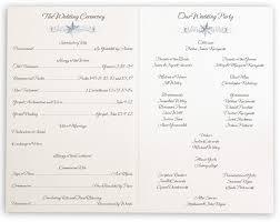 christmas wedding programs snowflake pattern winter wedding programs with snowflake designs