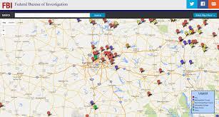 Crime Map Atlanta by Fbi U2014 2014