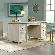 Sauder Executive Office Desks Sauder Palladia Executive Desk In Vintage Oak 420604 Sauder