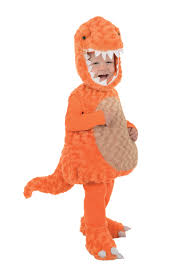 Rex Halloween Costumes Toddler Orange Rex Costume