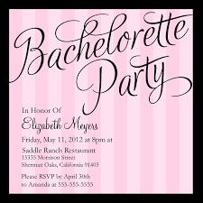 bachelorette party invitation wording modern designs invitations