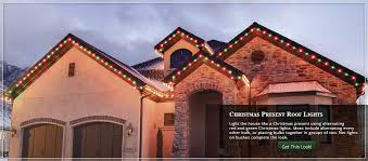 Outdoor Home Lighting Outdoor Christmas Lights Ideas For The Roof