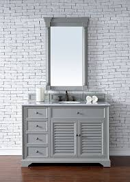 72 Inch Single Sink Bathroom Vanity by James Martin Savannah Single 48 Inch Transitional Bathroom
