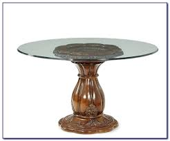 Glass Patio Table With Umbrella Hole 48 Glass Table Top U2013 Thelt Co