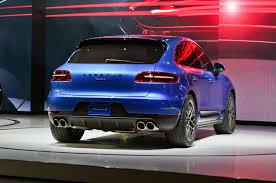 Porsche Macan Dark Blue - 2015 porsche macan first look truck trend