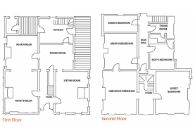 Symmetrical Floor Plans by Where Did Abraham Lincoln Live In Springfield