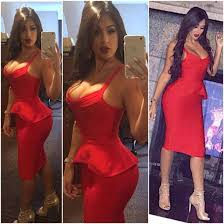 dress dress bandage bodycon bodycon dress party