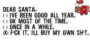 dear santa quote me on we it