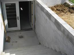 basement walkout basement walkout waterproofing