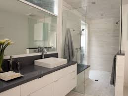 gray and white bathroom waplag black designs hgtv ideas gallery modern white bathroom with dark gray accents and vessel sink hgtv contemporary bathroom countertops