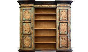 french country bookcase notre dame turquoise the koenig