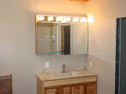 bathroom medicine cabinet lighting interiordesignew com