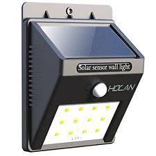 Solar Motion Lights Outdoor - july 12th solar motion sensor light holan 12 led waterproof