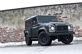 land rover kahn kahn land rover defender military edition with wide body kit