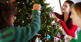 decorate christmas tree there s a correct way to hang christmas tree lights but nobody