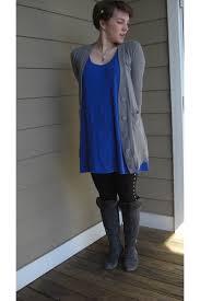 blue target dresses gray alco cardigans black miley cyrus max