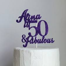 50 and fabulous cake topper and fabulous cake topper by on 10 50 gold sellit