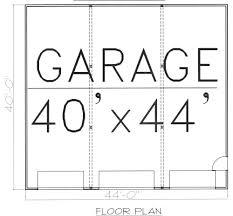 size of a 3 car garage station 3 car garage plans