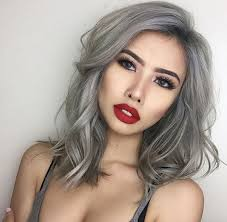 trendy grey hair 40 coveted lob hairstyles all women must see lob grey and hair