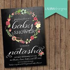 baby shower chalkboard chalkboard baby shower invitations cloveranddot