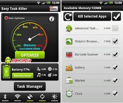 easy task killer apk دانلود یکی از بهترین تسک منیجرها و مدیریت برنامه های باز آندروید