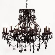 vintage black lighting vintage black chandelier for bedroom image 4