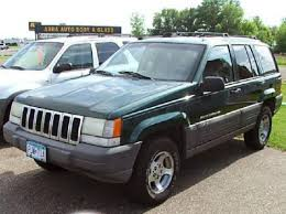 green jeep grand cherokee used 1996 jeep grand cherokee laredo suv for sale in mn autopten com