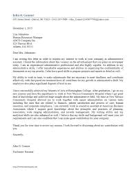 Examples Of Administrative Assistant Resume Sample Cover Letter For Resume Administrative Assistant Image