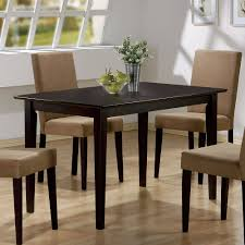 Modern Black Glass Dining Table Coaster Company Clayton Dining Table Walmart Com