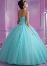light pink quince dresses vizcaya 89017 aqua strapless beaded quinceanera gown rissyroos