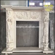 European Style European Style Fireplace Angel Statue Of The Greek Mythology Villa
