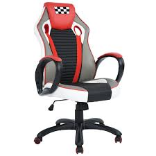 Desk Chair For Gaming by Merax High Back Pu Leather Executive Racing Gaming Office Chair