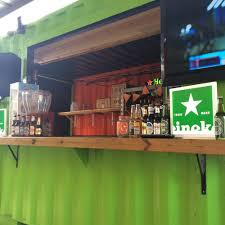 corrugated steel shipping container bar yelp