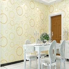 Blau F Schlafzimmer Pvc Tapete Wasserdicht Kreis Muster Wandverkleidung Für Wohnzimmer