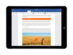 Ipad Spreadsheet Microsoft Office For Ipad Arrives Word Excel U0026 Powerpoint Now