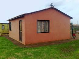 completed low cost house built robust building system building