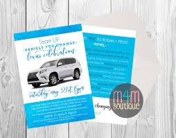 lexus manhattan service address digital download printable rf lexus celebration invite