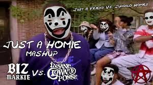 Insane Clown Posse Memes - mashup just a homie biz markie vs insane clown posse youtube