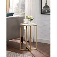 10 inch round side table marble gold round side table 16 inch rc willey furniture store