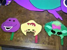 Diy Barney Decorations Girls Barney And Baby Bop Satin Ribbon Quick Ship Tutu First