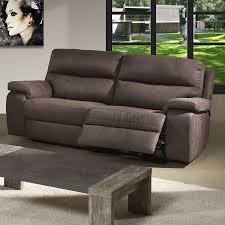 canapé relax 3 places cuir canap cuir 3 places relax electrique 5 avec canap relax 3 places