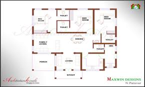 bedroom house designs and floor plans kerala bedroom house plans